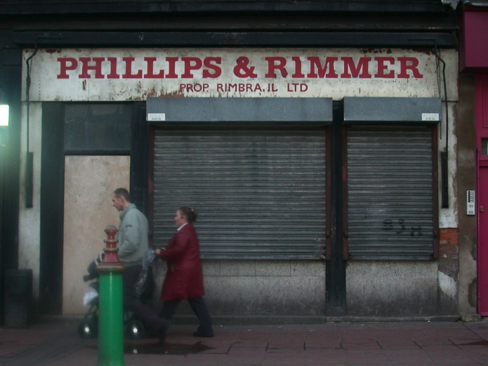 Phillips & Rimmer Prop. Rimbrand Ltd,, 44 Berry Street, Liverpool L1, 2003