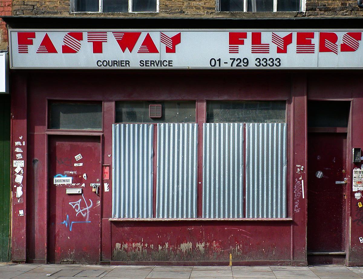 Fastway Fliers – Shopfront Elegy