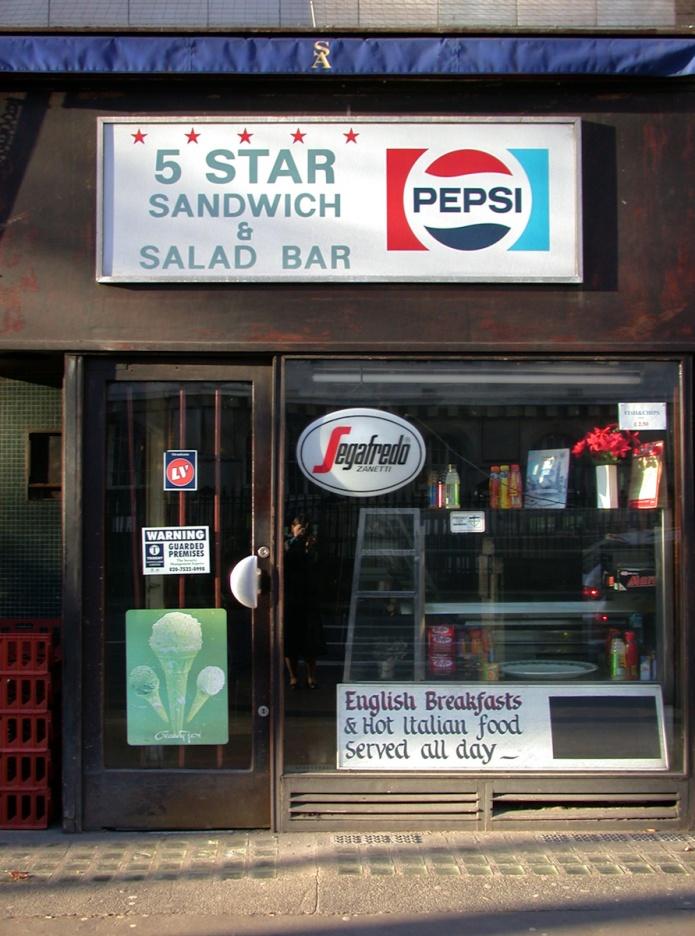 5 Star Sandwich & Salad Bar