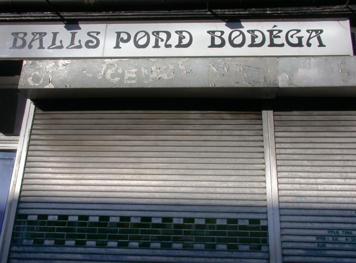 Balls Pond Bodega