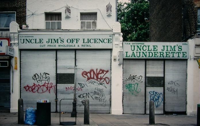 Uncle Jim's Off Licence, Uncle Jim's Launderette