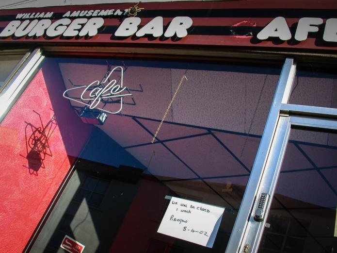 William Amusement Burger Bar