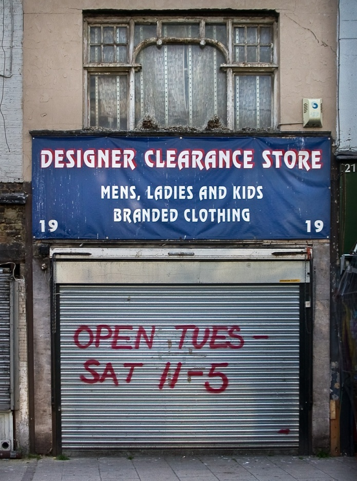 Designer Clearance Store