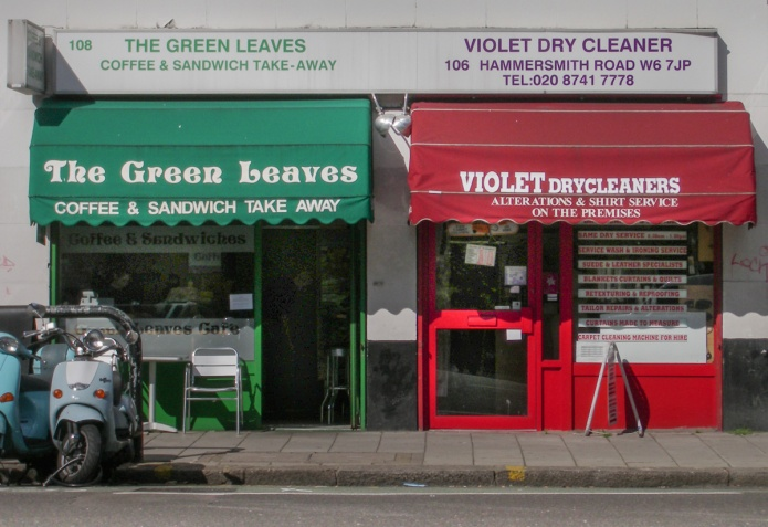 The Green Leaves, Violet Dry Cleaner