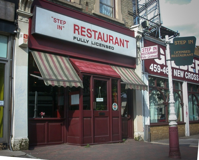 """Step In"" Restaurant"