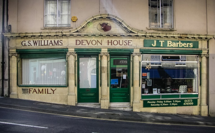 G.S. WIlliams Devon House J.T Barbers