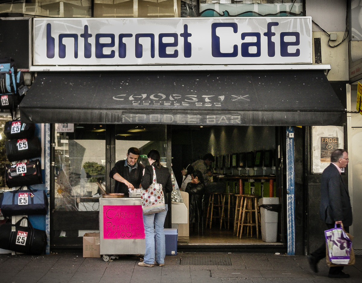 Internet Cafe With Computers London
