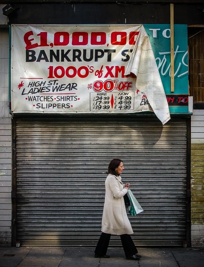 £1,000,000 Bankrupt Stock