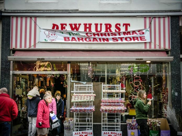 Christmas Bargain Store (Dewhurst)