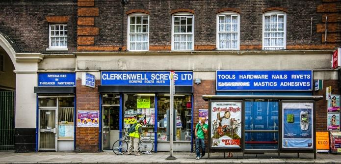ClerkenwellScrews