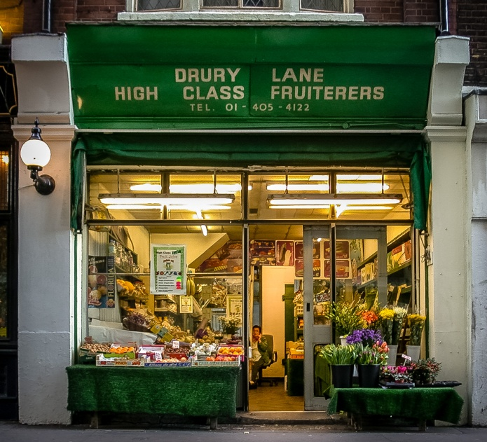 Drury Lane High Class Fruiterers