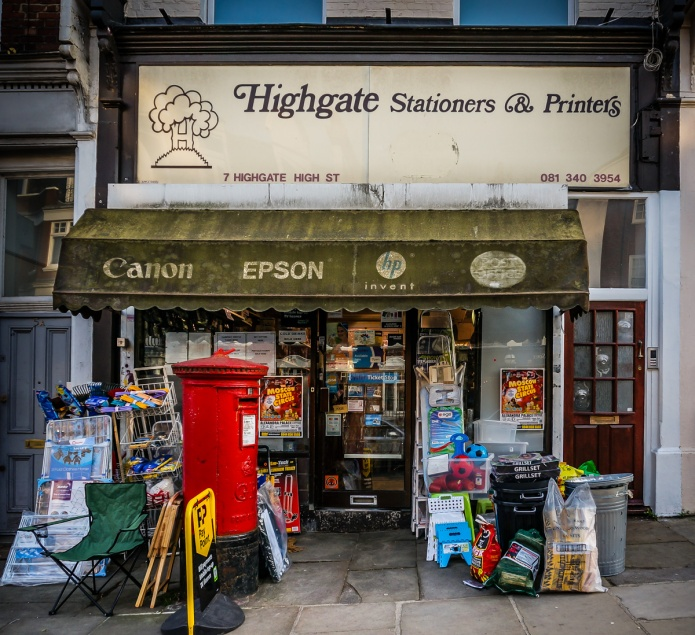 Highgate Stationers & Printers