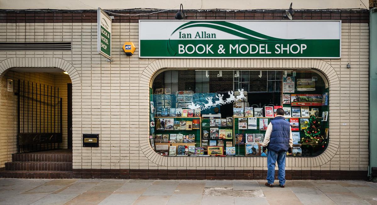 Model Shop Cardiff >> Ian Allen Shopfront Elegy