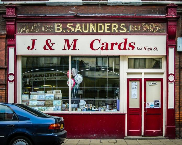 B. Saunders (J. & M. Cards)