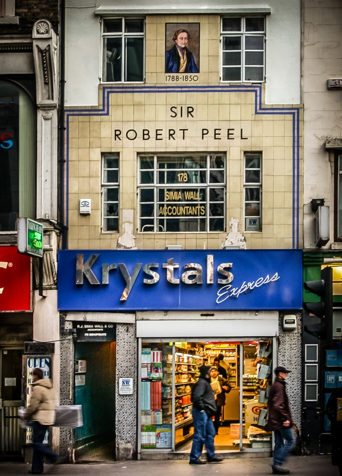 Sir Robert Peel, Krystals Express