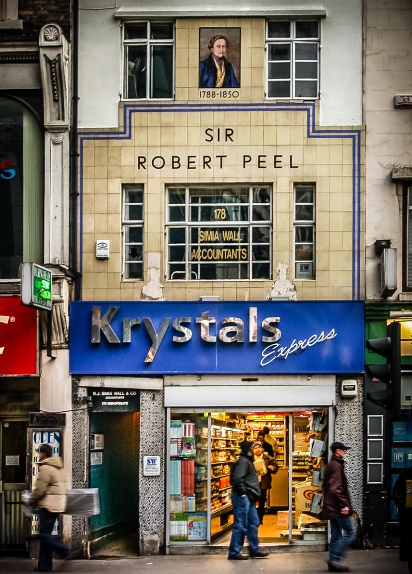 Sir Robert Peel, Krystals Express