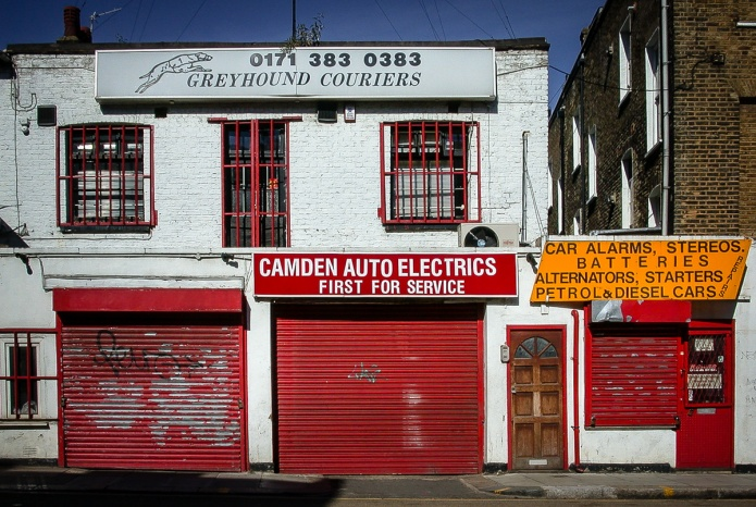 Camden Auto Electrics, Greyhound Couriers