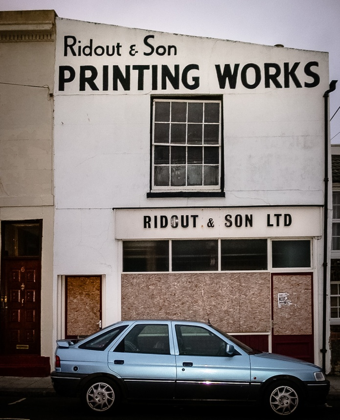 Ridout & Son Printing Works