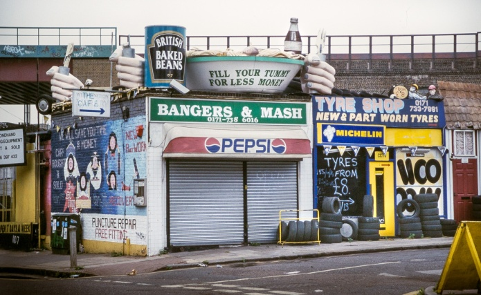 Bangers & Mash, Tyre Shop