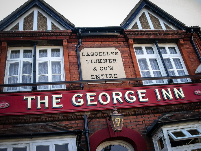 Lascelles Tickner & Co's Entire (The George Inn)