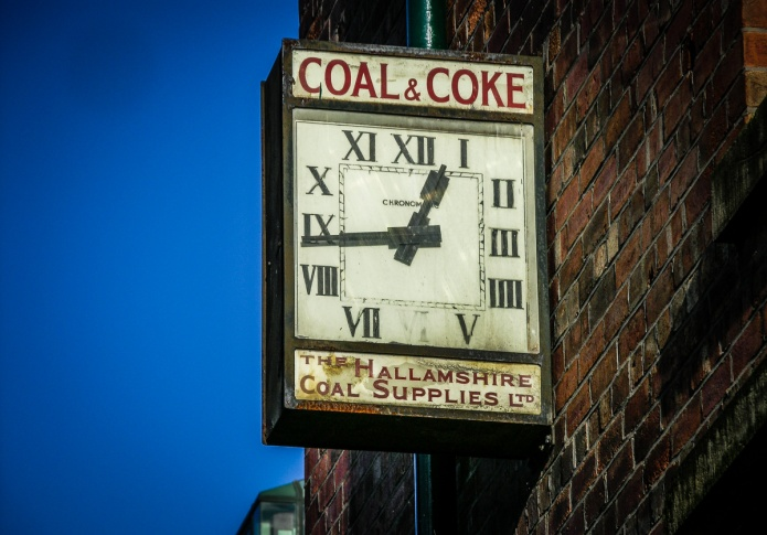 The Hallamshire Coal Supplies Ltd. clock