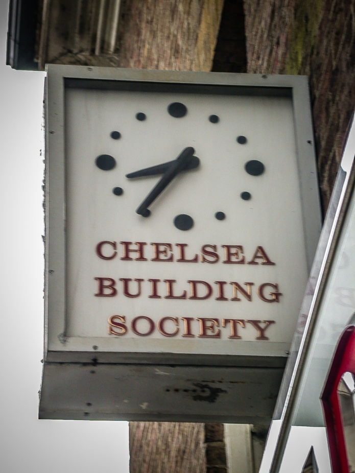 Chelsea Building Society clock