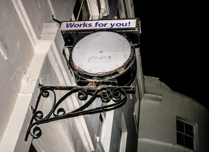 Works for You! clock (ex People Works)