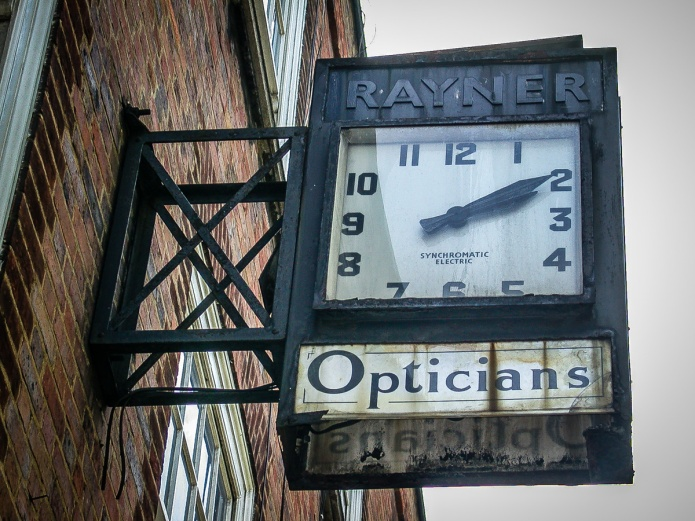 Rayner Opticians clock