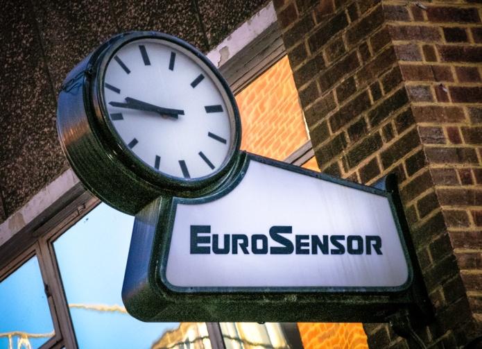 EuroSensor clock