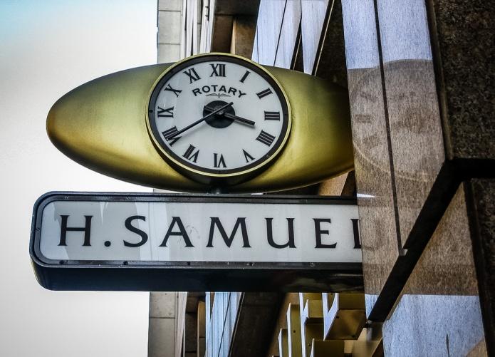 H. Samuel clock