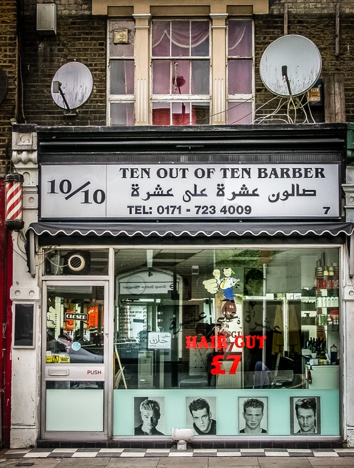 10/10 Ten Out of Ten Barber