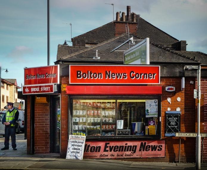Bolton News Corner