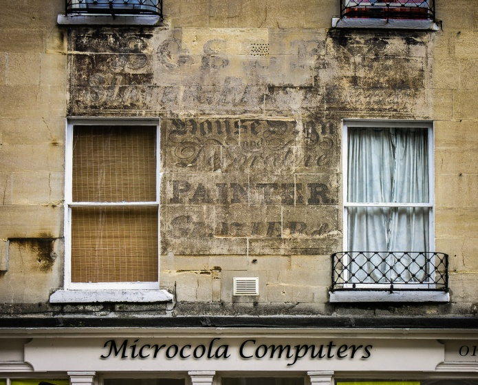 Microcola Computers, House Sign & Decorative Painter