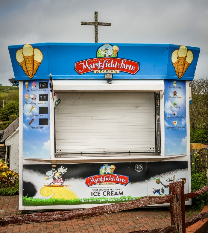 Marshfield Farm Ice Cream, St Nicholas Church
