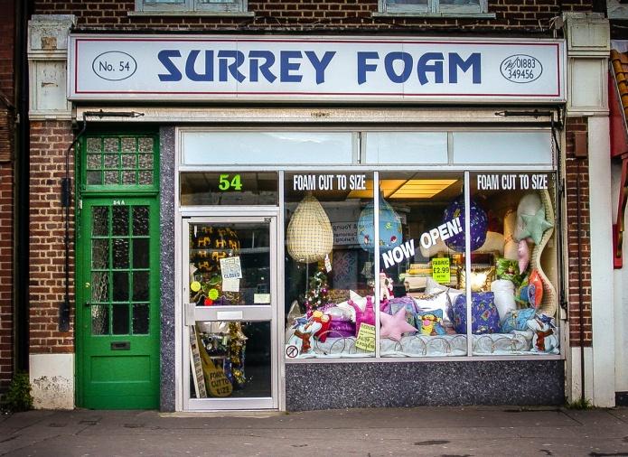 Surrey Foam