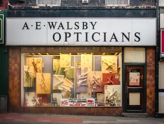 A. E. Walsby Opticians
