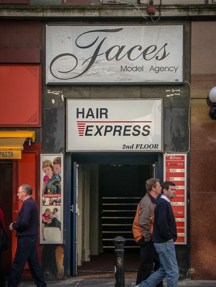 Hair Express, Faces