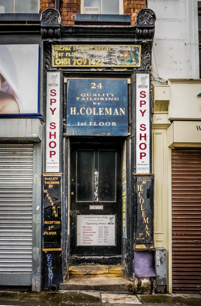H. Coleman, Max Spielmann, Spy Shop