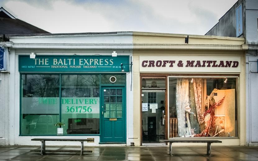 Croft & Maitland, The Balti Express