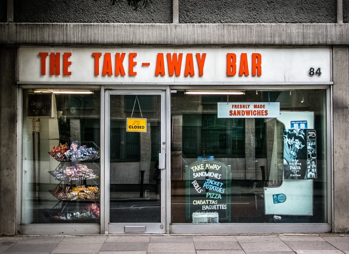 The Take-Away Bar
