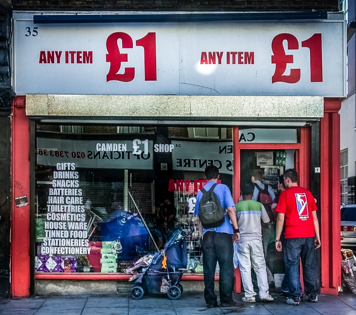 Camden £1 Shop