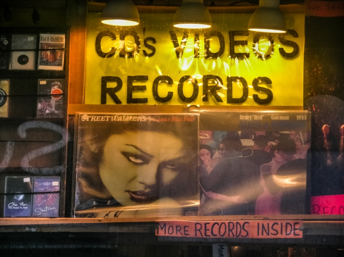 Nameless record shop