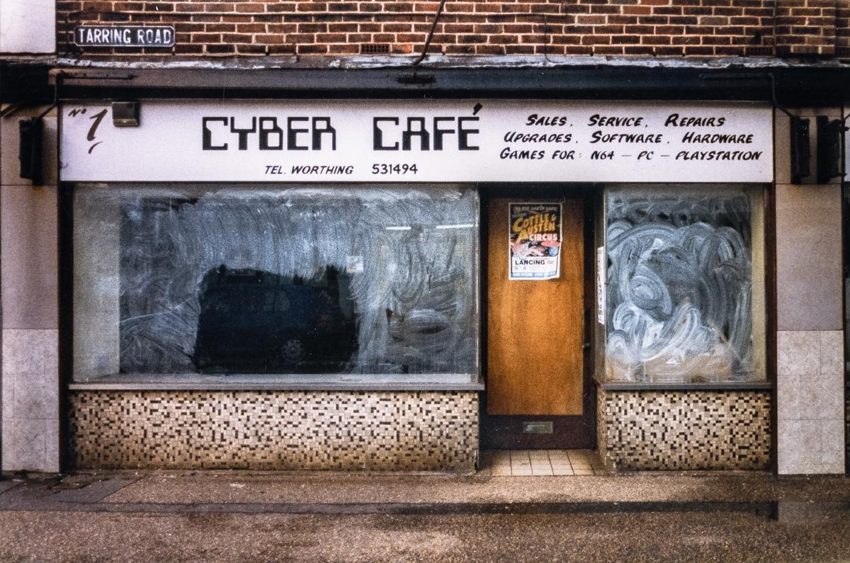 Cyber Café – Shopfront Elegy