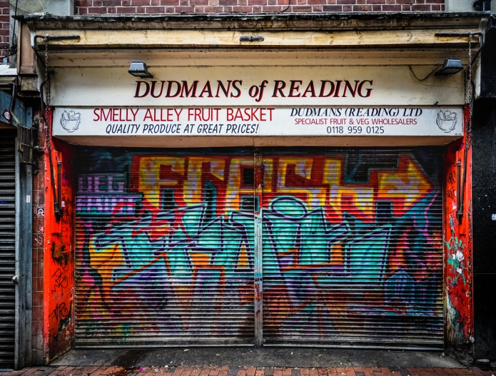 Smelly Alley Fruitbasket (Dudmans of Reading)